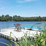 Užite si člnkovanie na jazere