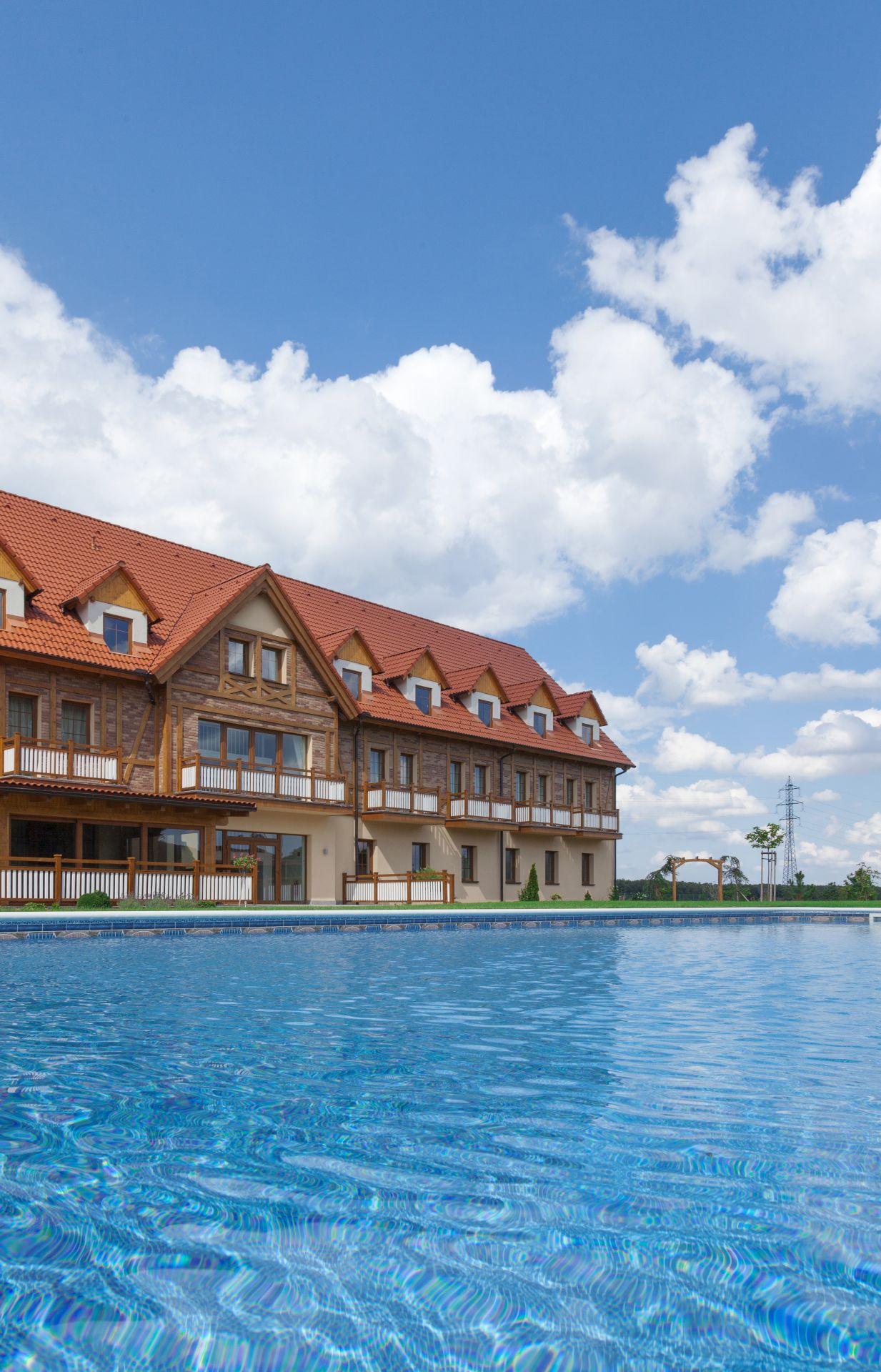 Bazén hotela Malvázia