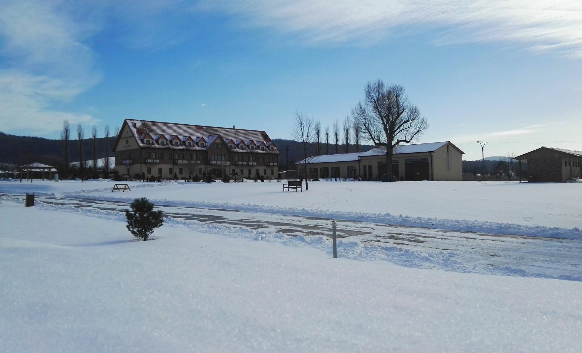Hotel Malvázia v zime